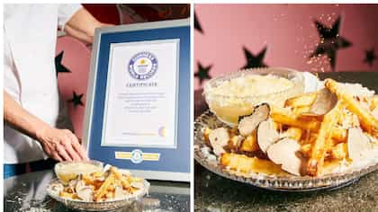 French Fries Worth $200 Sets Guinness World Record As The World's Costliest Fries
