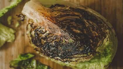 Black Pepper Baked Cabbage Steaks Recipe