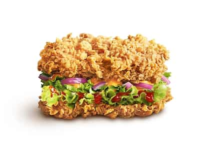 KFC's No-Bun, All-Meat Chicken Burger Is Back In The Menu After Popular Demand