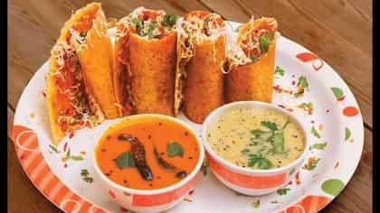 Jini Roll Dosa: How To  Make This Mumbai Street Food At Home