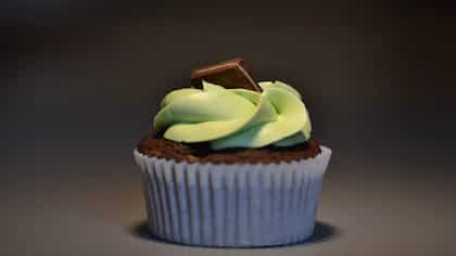 A Thai Infiltration With The Thai Green Curry Cupcakes