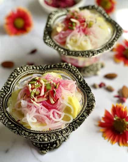 Royal Food History: Iranian Falooda's Classical Journey To India
