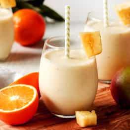 Moroccan Almond Milk With Orange Blossom