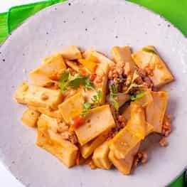 Lime-Curry Tofu Stir Fry