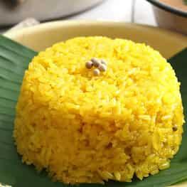 Yellow Sticky Rice