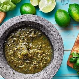 Salsa Verde De Cilantro